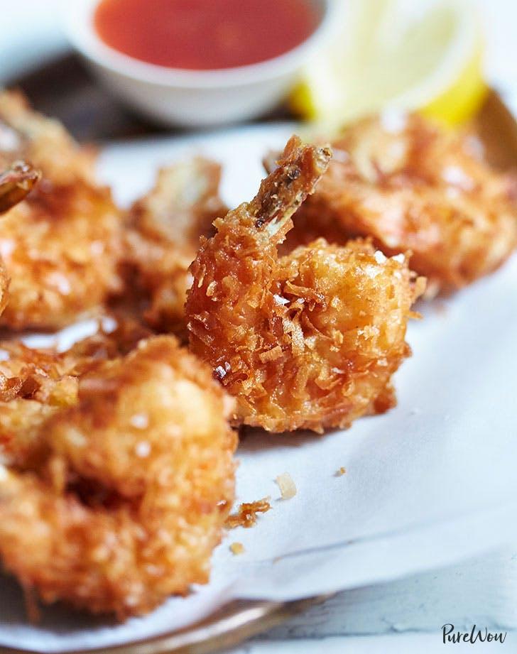 Coconut Shrimp fourth of july appetizer