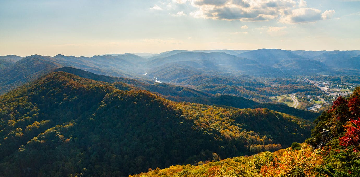 Cumberland Gap National Historical Park in Kentucky