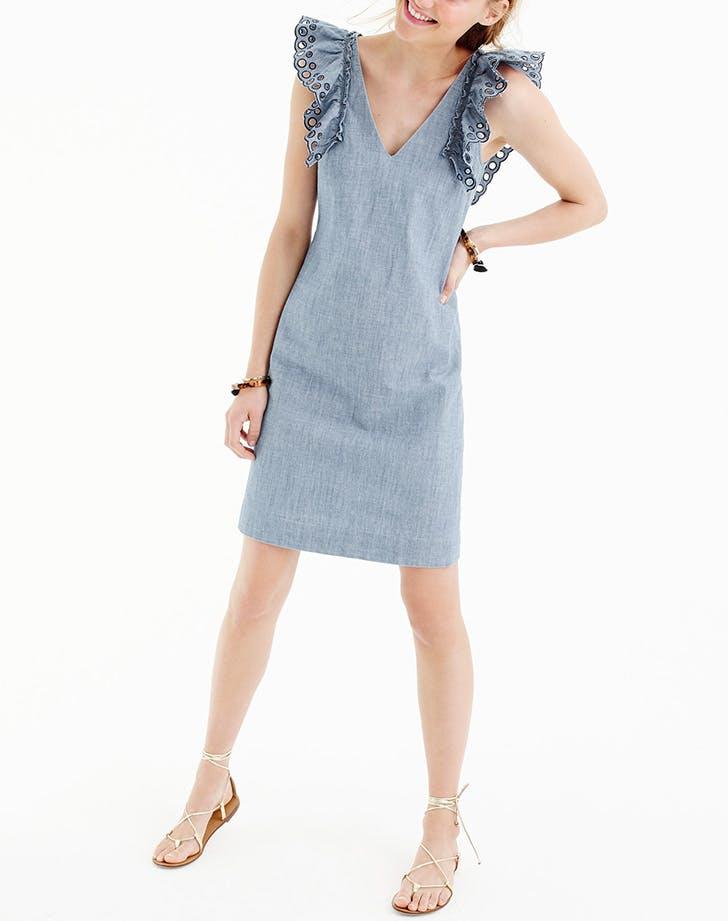 DAL dresses chambray sheath LIST