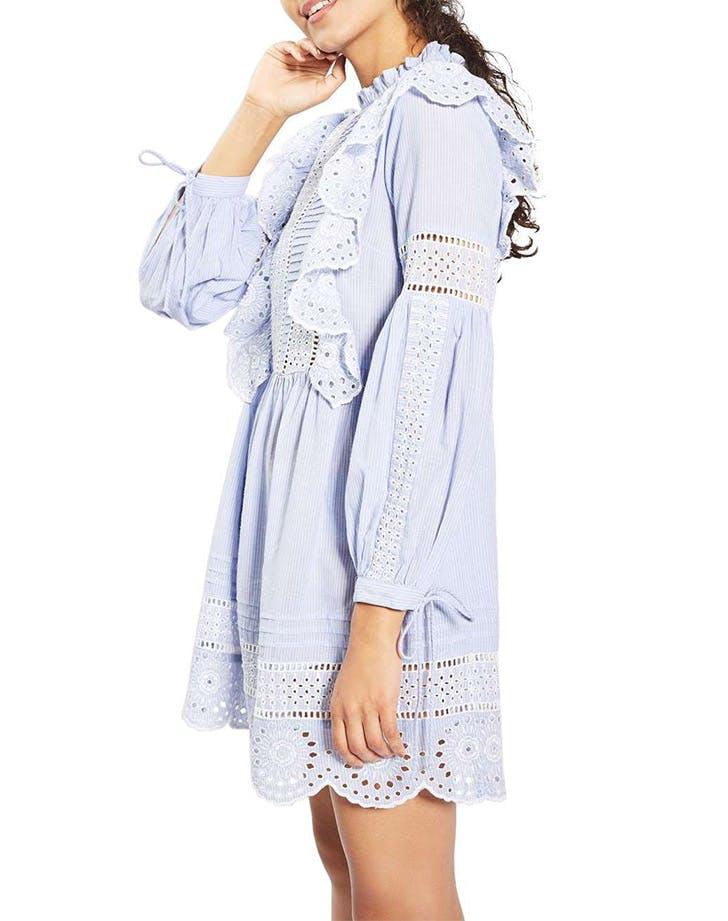 DAL dresses long sleeve ruffle LIST