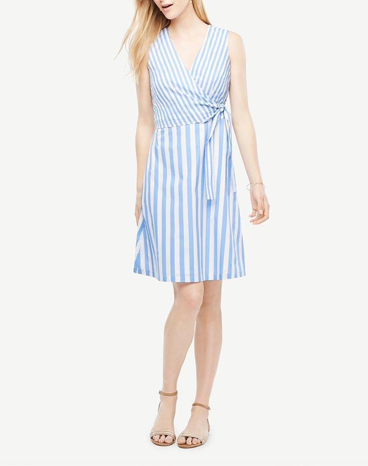 DAL dresses striped flare LIST