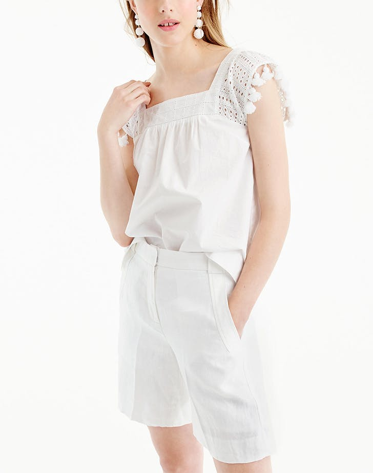 DAL eyelet top LIST