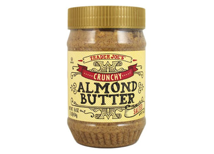 DAL trader joes almond butter LIST