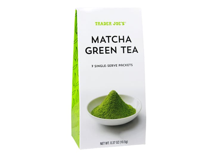 DAL trader joes matcha green tea LIST