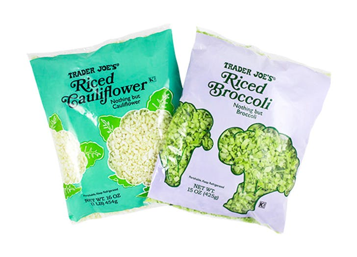 DAL trader joes riced cauliflower LIST