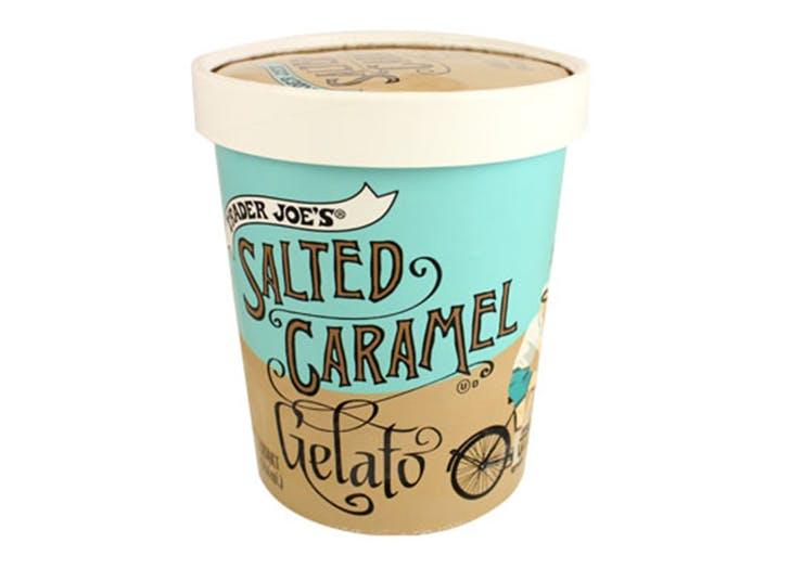 DAL trader joes salted caramel gelato LIST