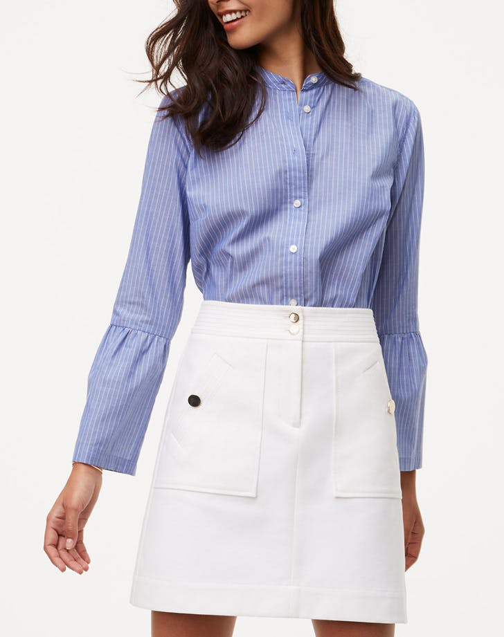 DAL white skirt LIST