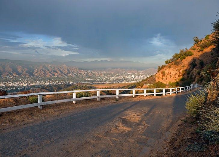 Dirt road in Glendale California