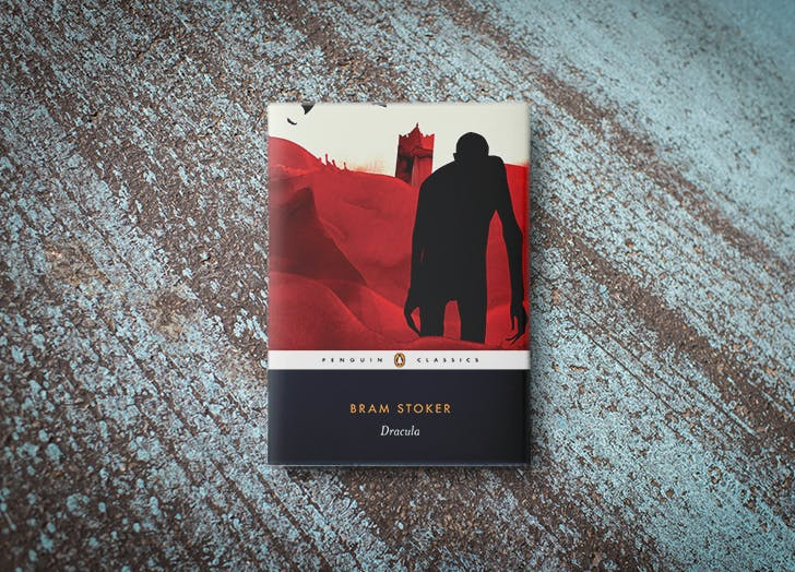 Dracula by Bram Stoker book cover