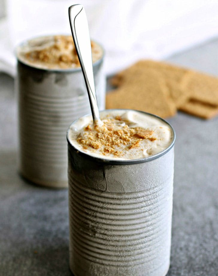 Easy No Churn Peanut Butter Frozen Yogurt Recipe