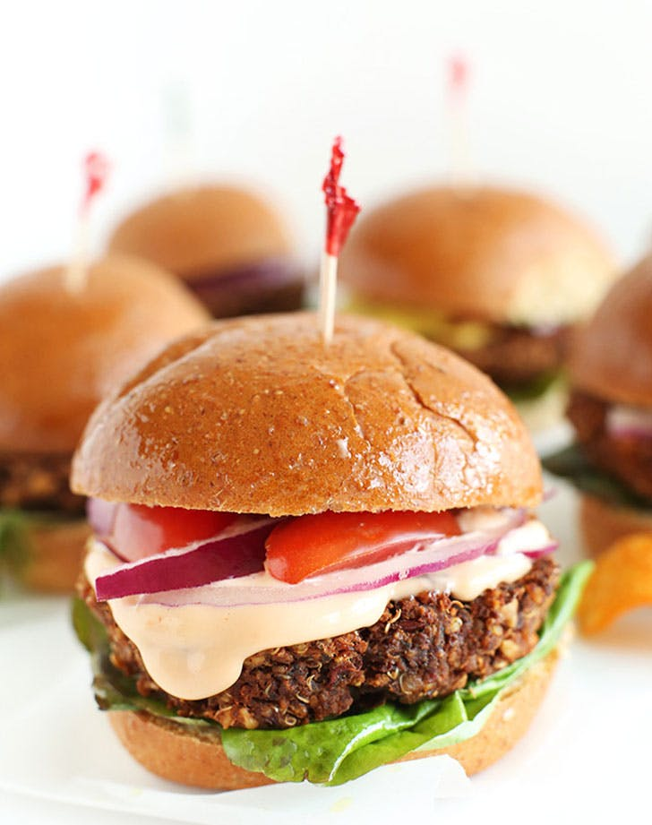 Easy Wholesome 7 Ingredient Veggie Sliders