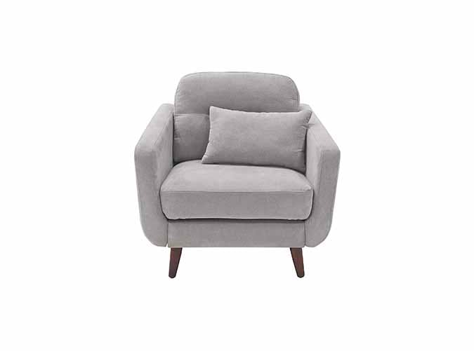 Elle Decor Mid Century Modern Chloe Arm Chair