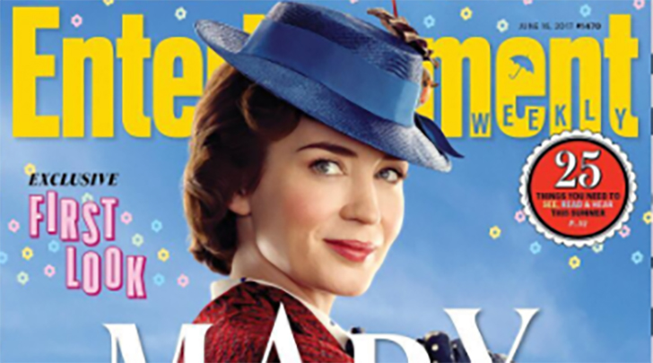 Here's the latest images of Emily Blunt as Mary Poppins