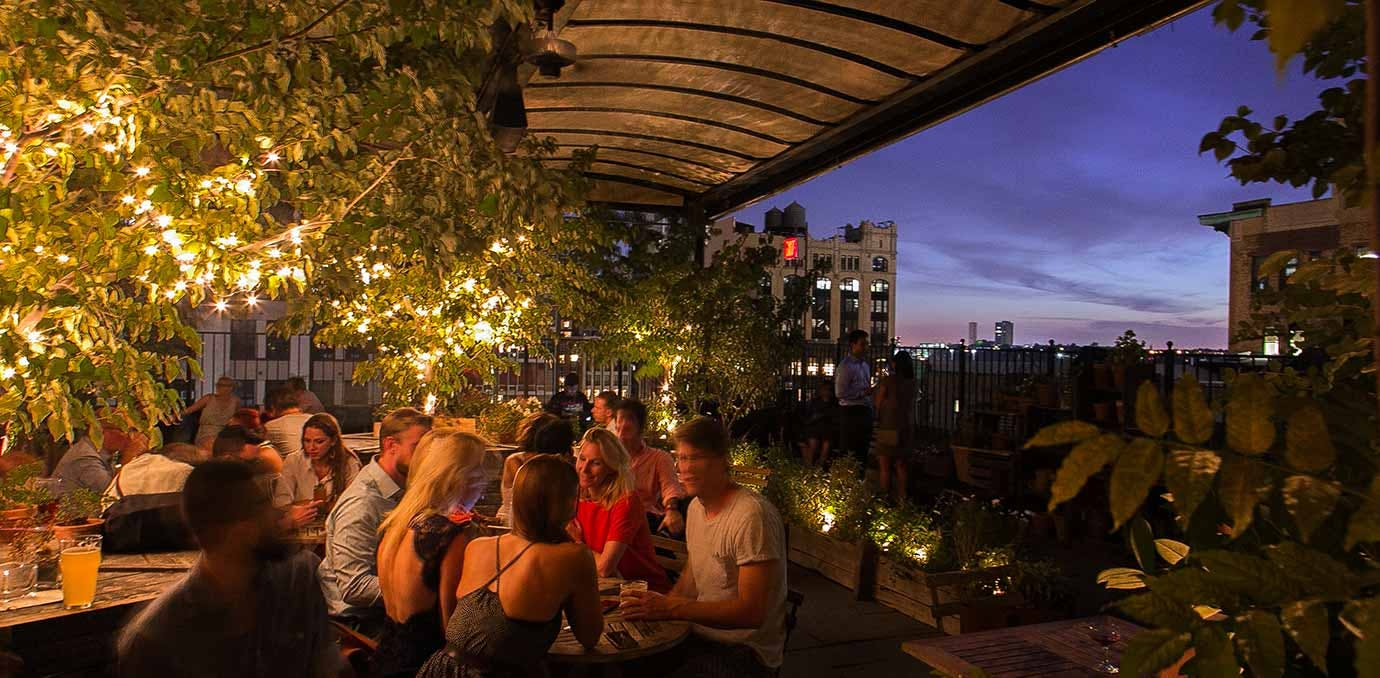 Gallow Green rooftop bars NY