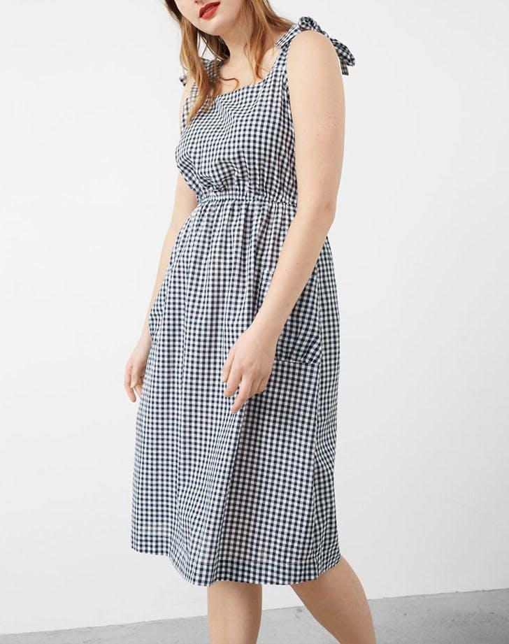 HAMP dresses gingham LIST