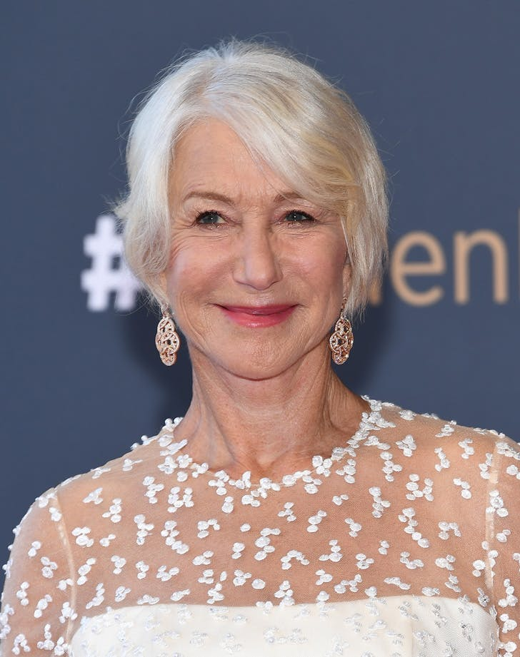 HELEN MIRREN HAIR LIST