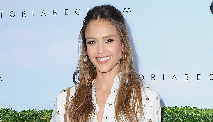 Jessica Alba superior brow game