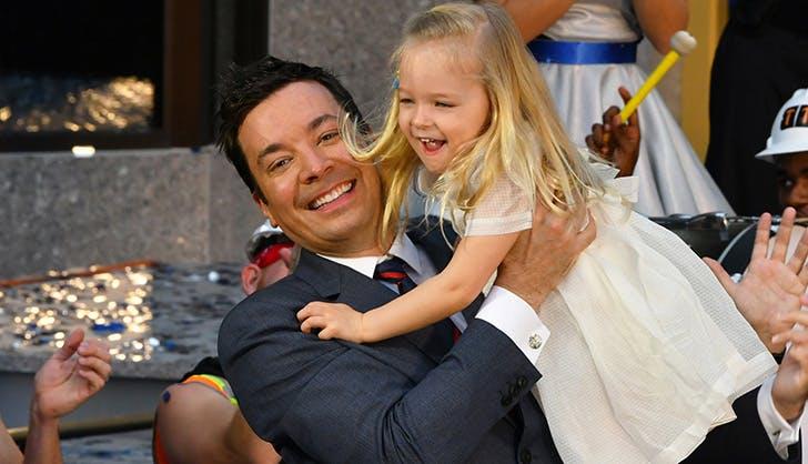 Jimmy Fallon Daddy Daughter