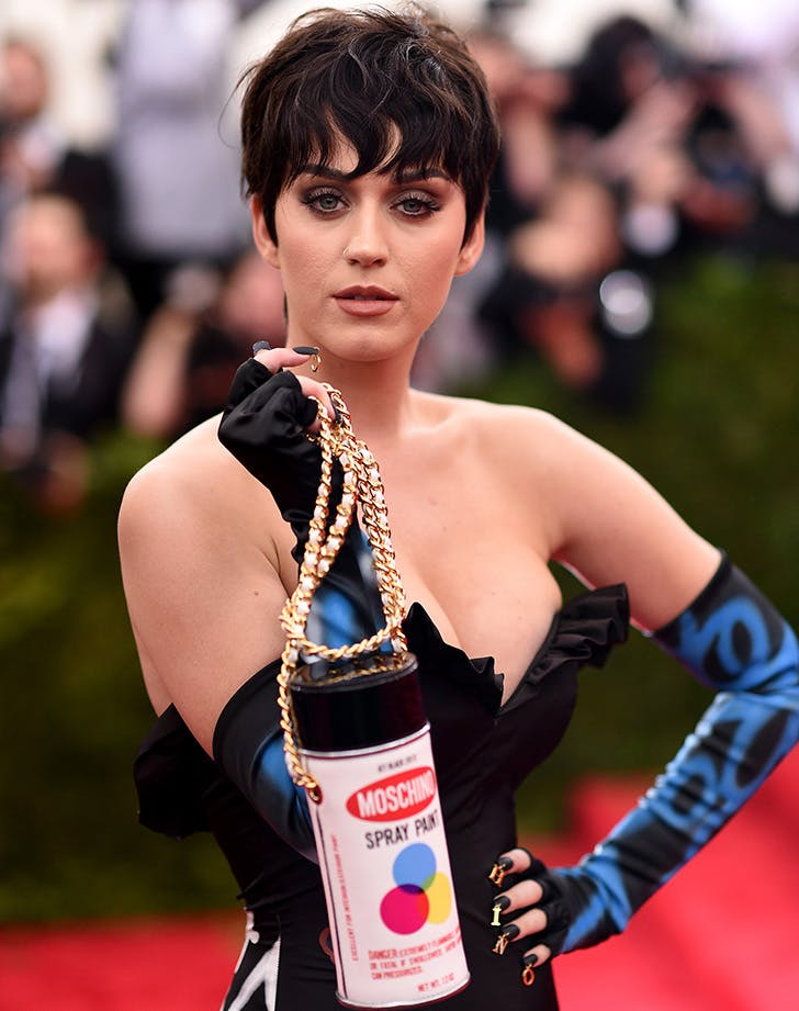 Katy Perry Spray Paint Purse