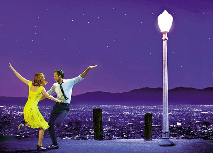 LA movie spots la la land LIST