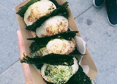 LA rice balls CAR