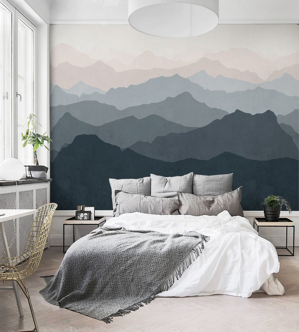 Easy-Hang Mural Wall Paper Trend