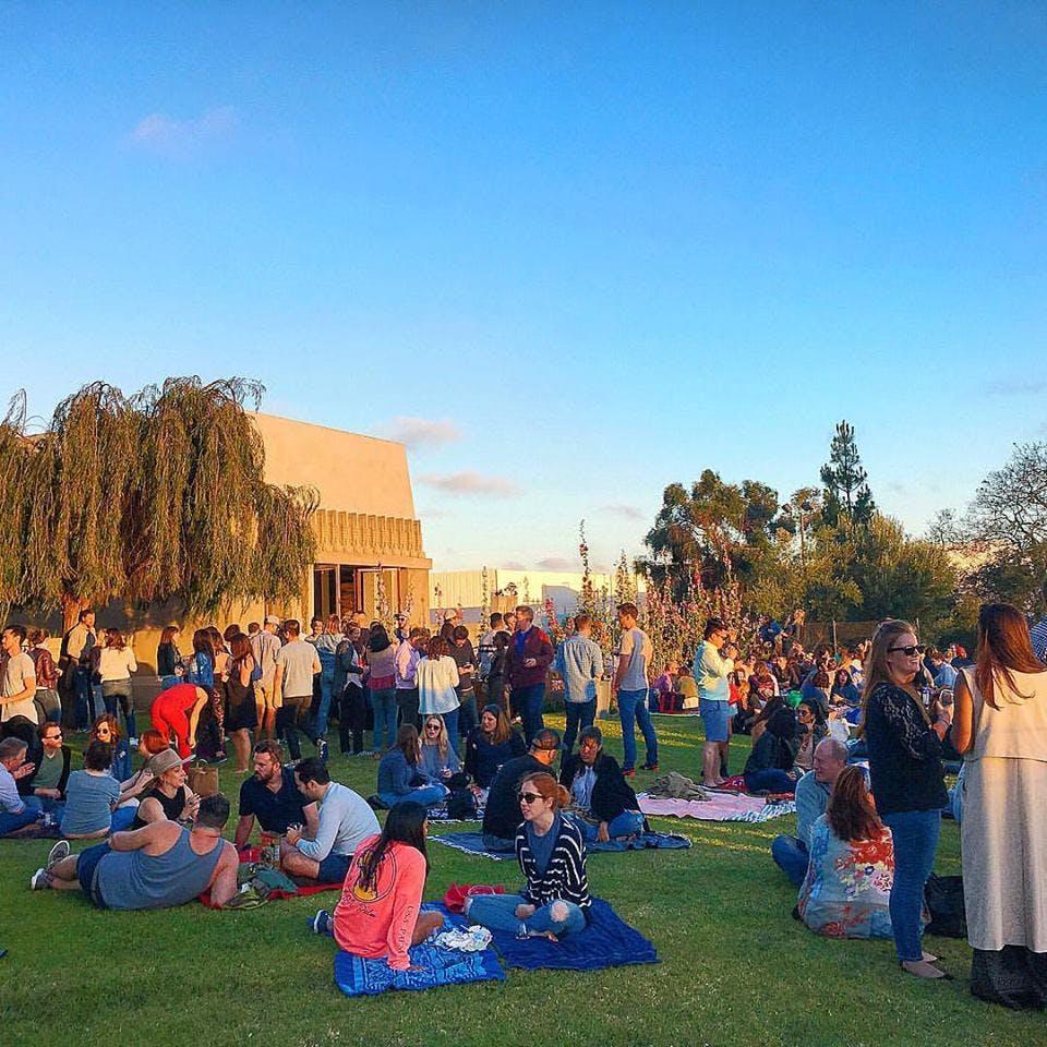 LA picnic spots barnsdale art park