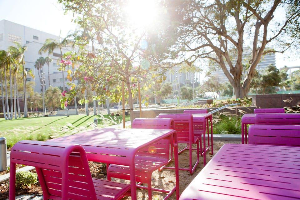 LA picnic spots grand park