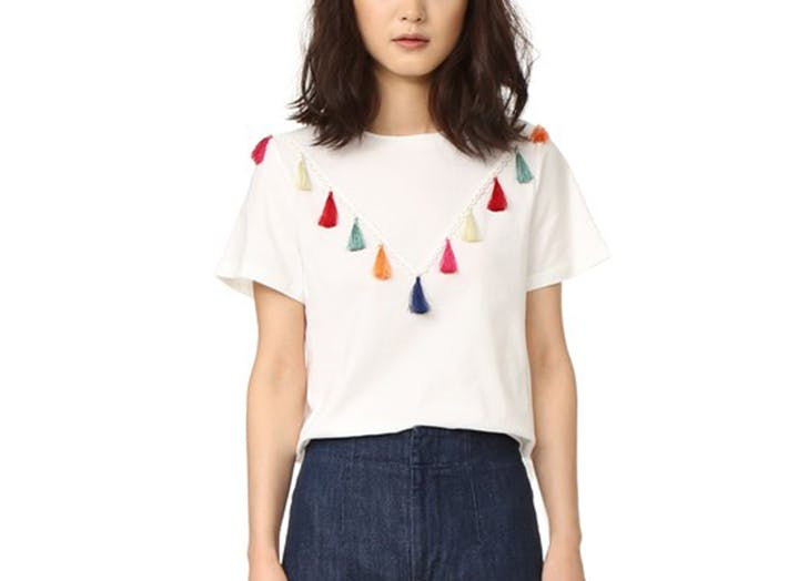 MIA t shirts tassels LIST1