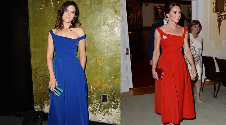 Mandy Moore Rocks the Same Preen Frock as Kate Middleton