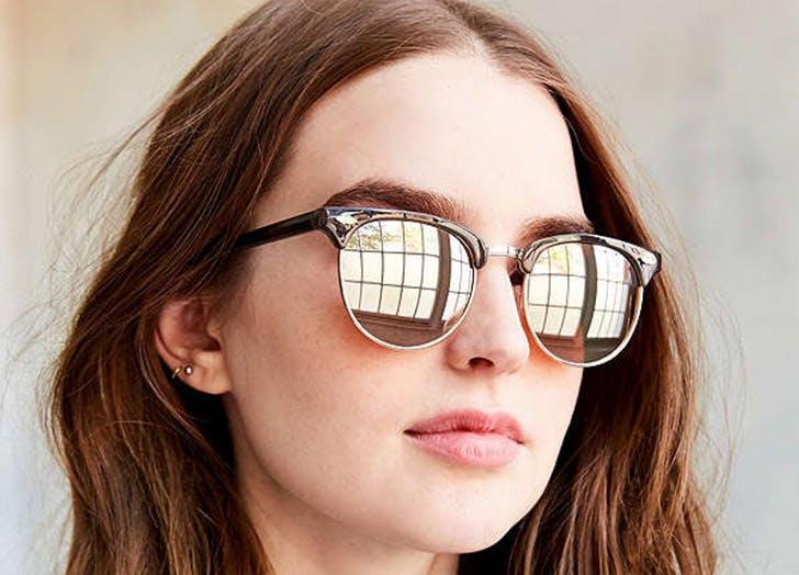 NY sunglasses half round LIST