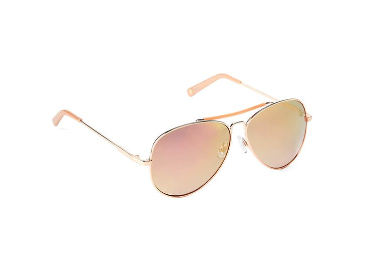 NY sunglasses pink lenses LIST