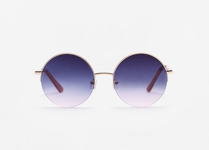 NY sunglasses tinted round LIST