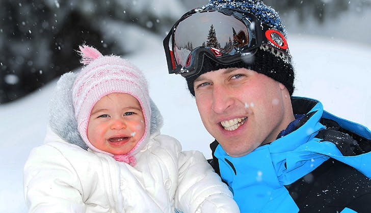 Prince William Princess Charlotte Daddy Daughter