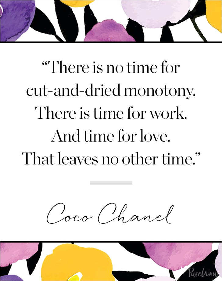 11 Coco Chanel Quotes To Guide You Through Life Purewow