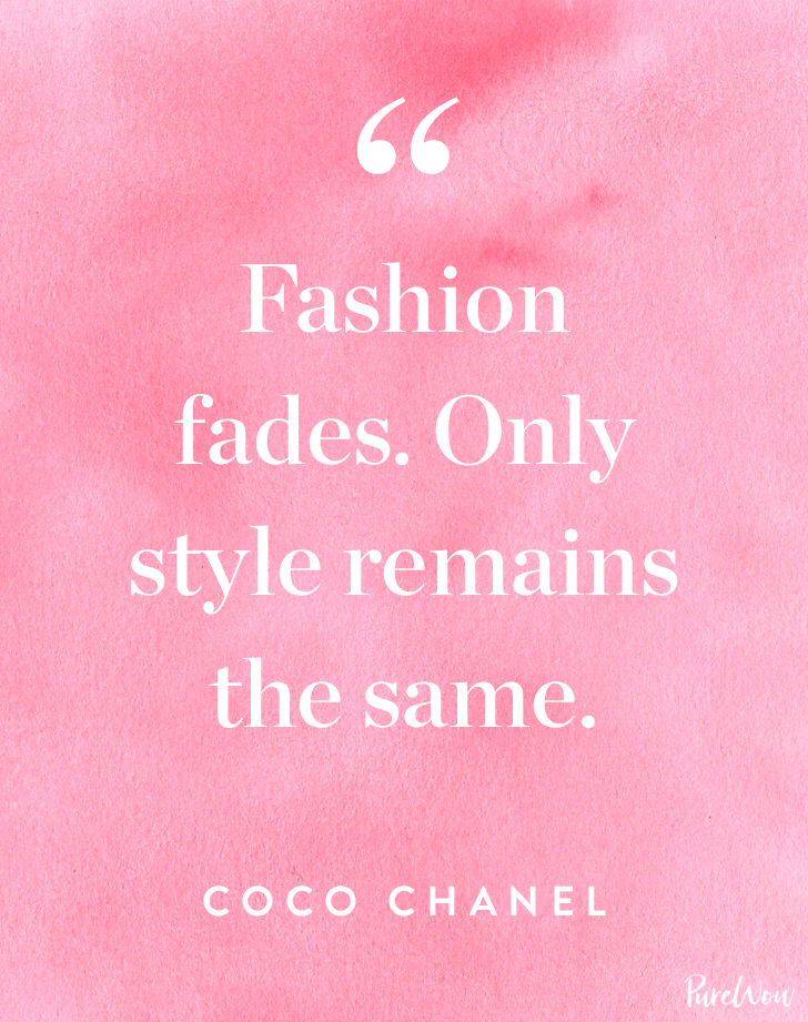 Quotes About Fashion And Style 6