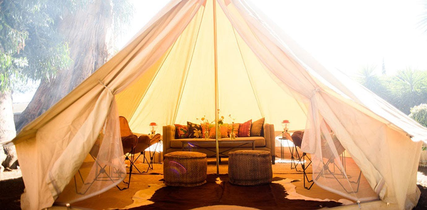 Tents Shelters Rentals : The best glamping spots near san francisco purewow
