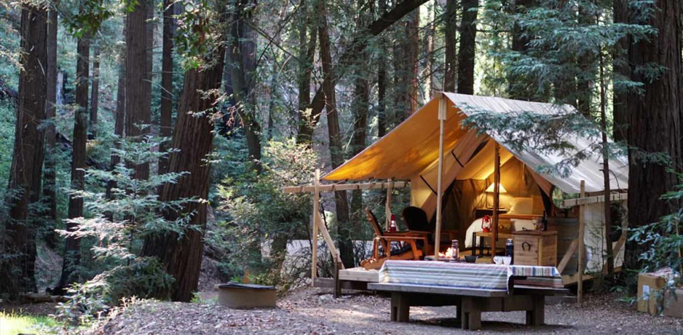 The Best Glamping Spots Near San Francisco Purewow