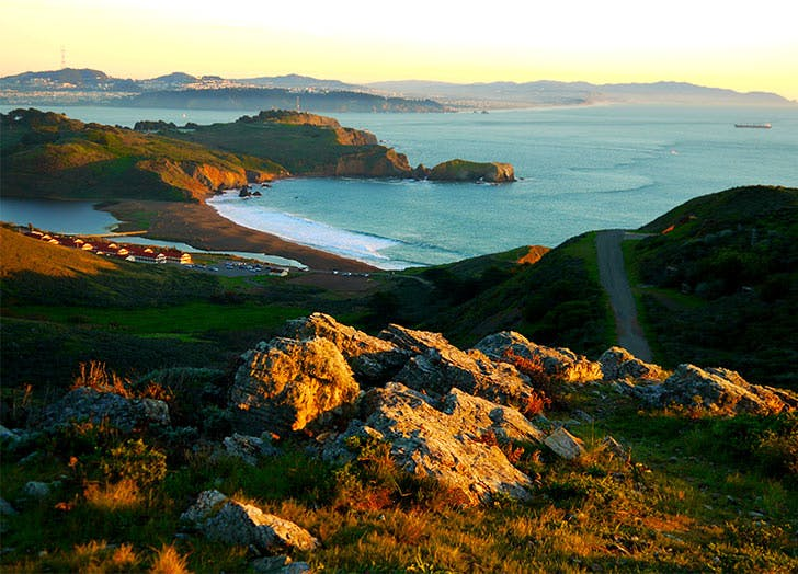 SF hikes rodeo beach LIST