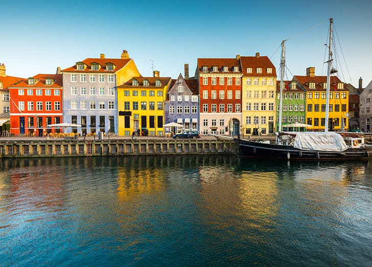 SFO direct flights copenhagen