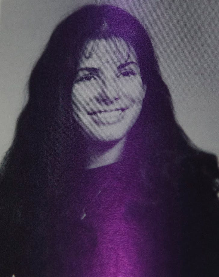 Sandra Bullock Yearbook Photo