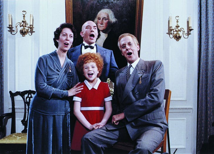 Scene from the film Annie