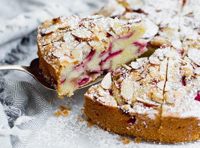 Strawberry Almond Tea Cake 501