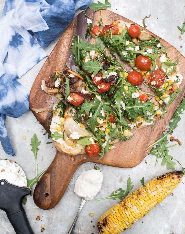 Summer Veggie Flatbread