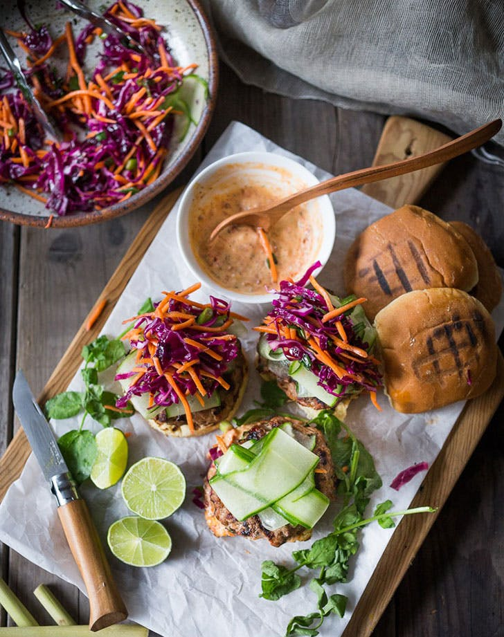 Thai Turkey Burger