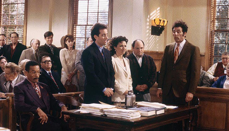 The best TV series finales of all time Seinfeld
