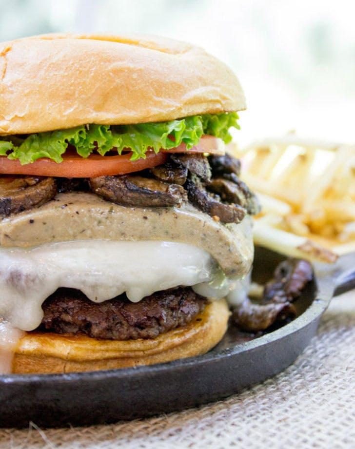 Truffle Mousse Burgers