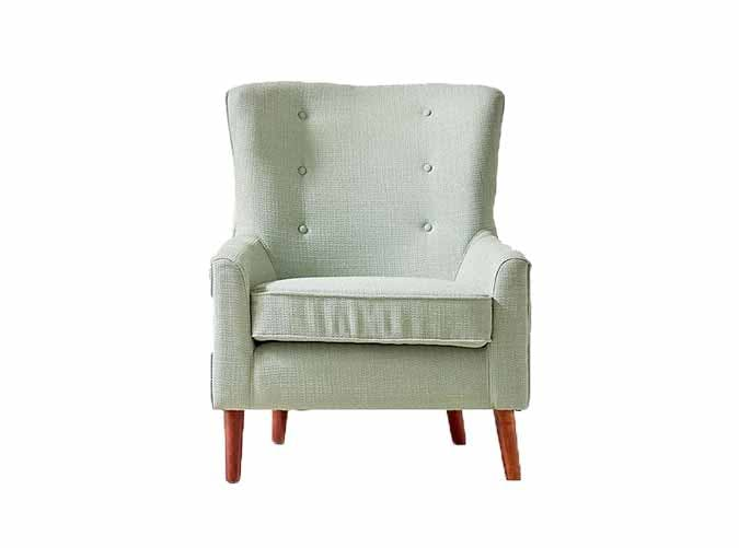 UO Frankie Arm Chair mint chair under 300