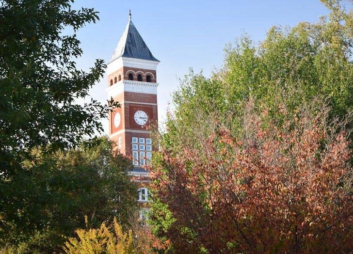 University of Clemson South Carolina