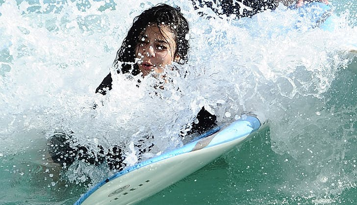 Vanessa Hudgens Celebrity Wipeouts
